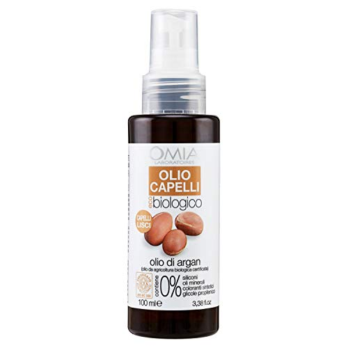 Omia R930021 Olio Capelli Ecobio Olio di Argan - 100 Ml