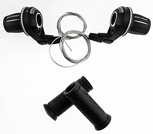 SRAM MRX Comp Bicycle Twist Shifter Set (6-Speed)