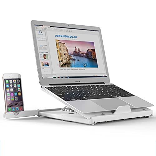 Laptop stand Soporte para computadora portátil teléfono móvil, Elevador para Tableta Ajuste de 9 velocidades disipación de Calor Hueca 12-17 Pulgadas Disponibles