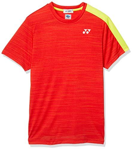 [ヨネックス] 半袖シャツ UNIゲームシャツ (フィットスタイル) メンズ サンセットレッド (496) 日本 S (日本サイズS相当)