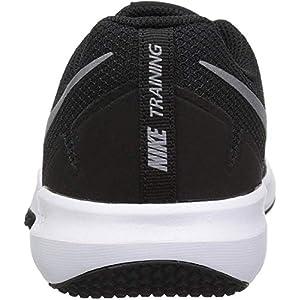 Nike Men's Flex Control II Cross Trainer, Black/Metallic Cool Grey - Cool Grey - White, 11.5 Regular US