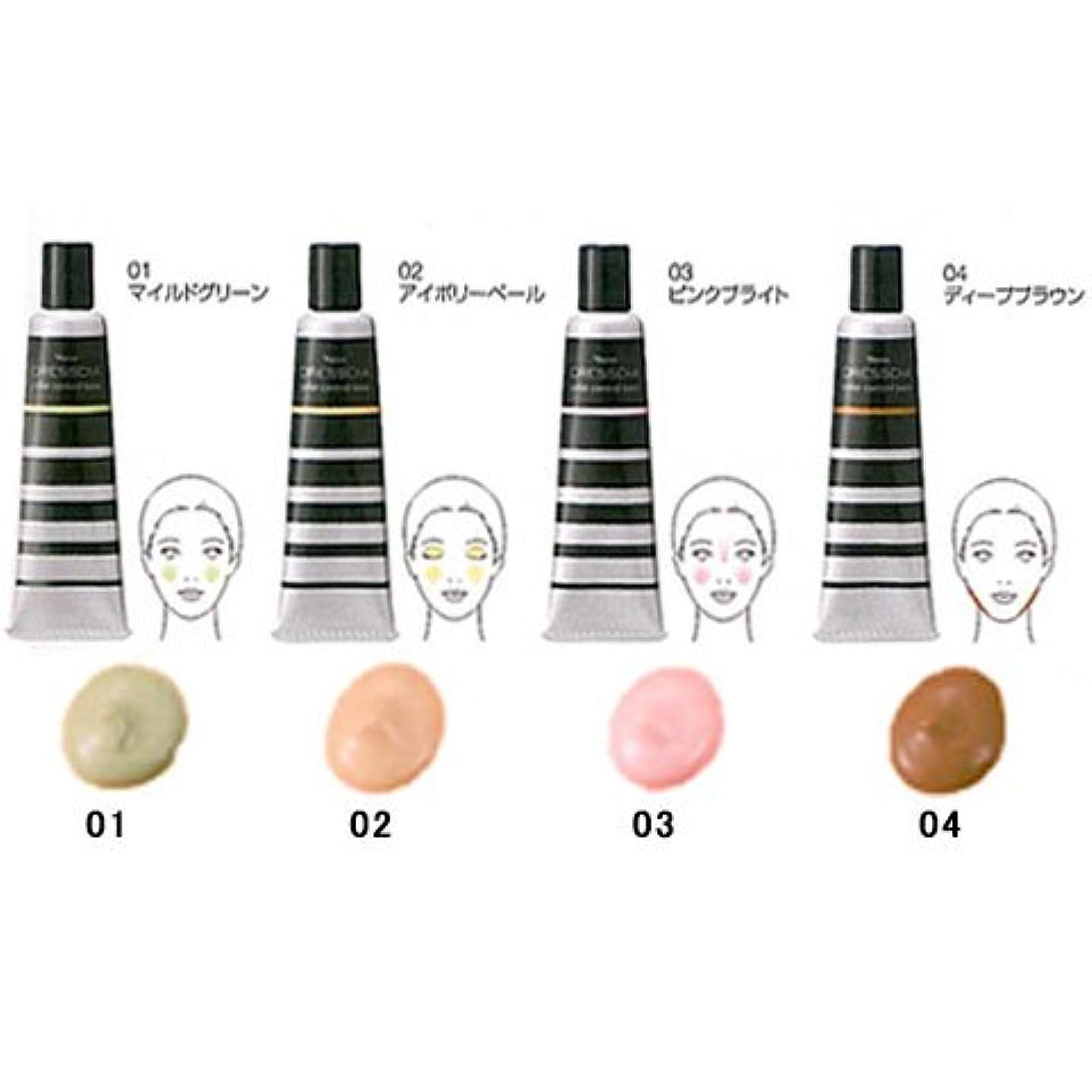 ブロー深く教えてナリス化粧品 ドレスディア カラーコントロールベース部分用 化粧下地 20g 04 ディープブラウン