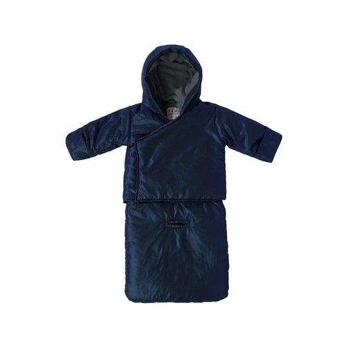 7 A.M. Enfant BagOcoat Jumpsuit Sacs, Midnight Blue, Medium