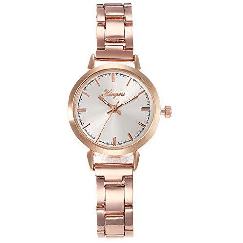 TWISFER Damen Analog Quarz Uhr mit Edelstahl Armband Elegante Damenuhr Armbanduhr Frauen Schöne Mode Uhr