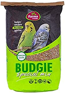 FARMA BUDGIE AND SMALL PARAKEETS MIX FOOD 20 KG
