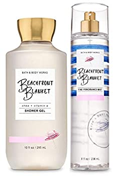 Bath and Body Works BEACHFRONT BLANKET - Duo Gift Set - Shower Gel and Fragrance Mist - Full Size