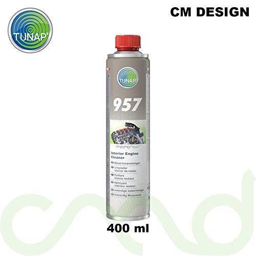 TUNAP 957 - Detergente motore per interni, 400 ml, incl. protezione antisporco gratis