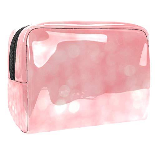 Blurred Lights Travel Toiletry Bag, Premium Waterproof Travel Bag with Upgraded Zipper