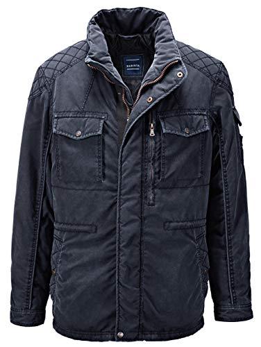 BABISTA Herren Jacke mit Umlegekragen in Marineblau in vorgewaschener Qualität