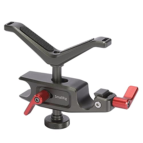 SmallRig 15mm LWS Universal Y-Bracket Lens Support, Quick Release, Vertical and Horizontal Adjustment - BSL2644