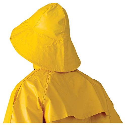 Southwestern Rain Hat for Men and Women - Waterproof, Lightweight (Extra Large, Yellow)