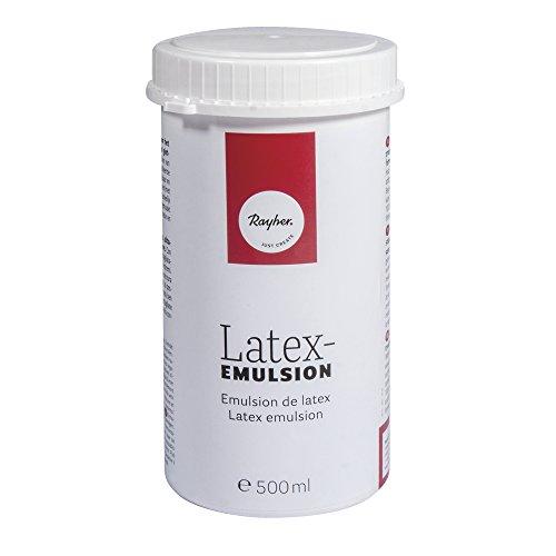 Rayher Hobby 3412900 Latexemulsion, 500 ml
