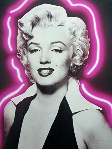 Marilyn Monroe: Purple Essence Head-Shot 16x20 Poster