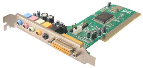 Logilink 5.1 Surround Soundkarte PCI 6 Kanal