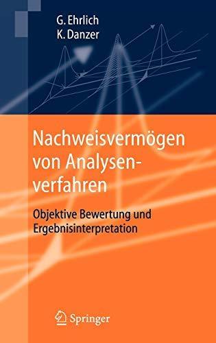 Nachweisvermögen von Analysenverfahren: Objektive Bewertung und Ergebnisinterpretation