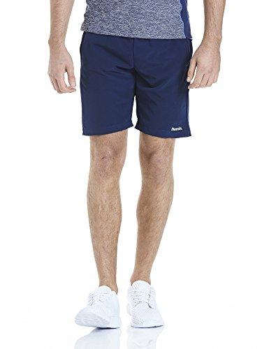 Bench Herren Two IN ONE Shorts, Navy, L