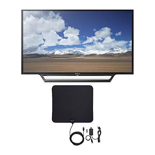 Sony KDL32W600D 32-Inch Built-in Wi-Fi HD TV with Knox Gear Ultra-Thin Digital HDTV Antenna Bundle (2 Items)