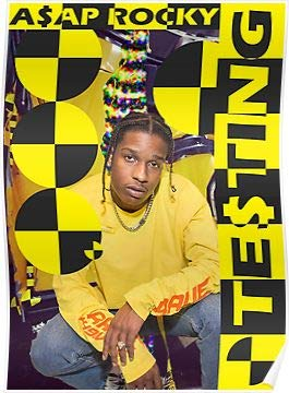 unity One Poster ASAP Rocky 12 x 12 inch Poster Rolled