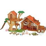 シルバニアファミリー 森のどきどきツリーハウスとおとまりファミリーコテージ UK版