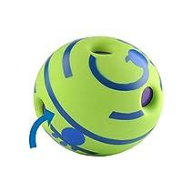 ペットのニブルのおもちゃペットのおもちゃ猫と犬ボーカル玩具ペットボールトレーニング一口性ビニルペット対話型玩具トレーニングボールペットのおもちゃ Jinlyp (色 : Green, Size : S)