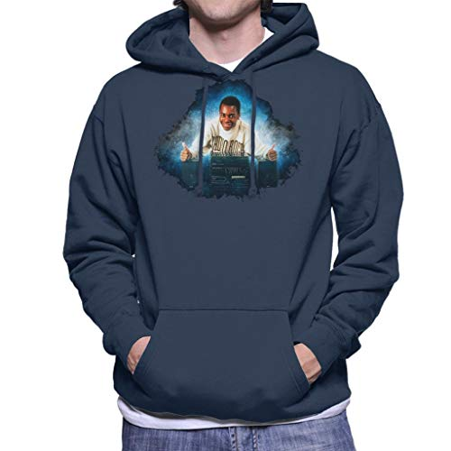 TV Times Andi Peters with A HiFi Thumbs Up Men's Hooded Sweatshirt