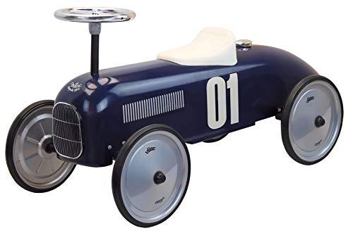 Vilac, Porteur Voiture Vintage Bleu foncé ( Dark Blue)