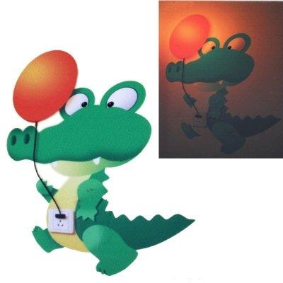 MMPY Dinosaurio de la decoración del Sitio de la lámpara Estilo de Dibujos Animados de Papel DIY Lámparas de Pared Energía de Dibujos Animados luz del Ahorro de la Novedad Buen Regalo