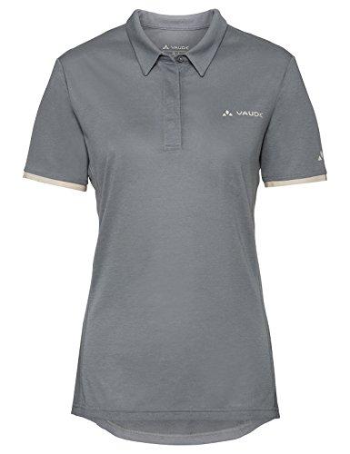 VAUDE Damen T-shirt Women's Sentiero Shirt IV, pewter grey, 36, 408230990360