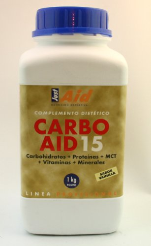 Just aid C-20 Carbon aid 15 vanille 1kg poeder 1-pack (1 x 300 g)