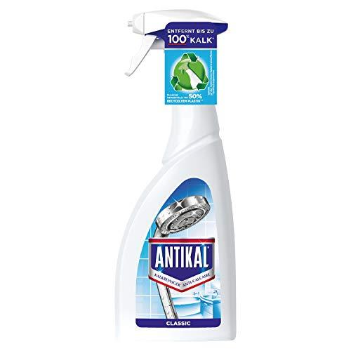 Antikal Kalkreiniger Spray (750 ml) Classic, Reinigung und Kalkentfernung für Küche und Bad
