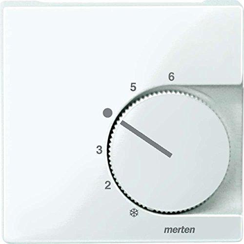 Merten 1329759 Zentralplatte 534719 für Raumtemperaturschalter