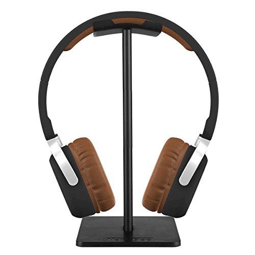 iKNOWTECH® Soporte de auriculares de aluminio para Microsoft Xbox One Chat,  Turtle Beach Recon 50X/50P/Beach XO One Stereo,  KingTop EACH G2000,  Sony PlayStation auriculares estéreo inalámbricos y más