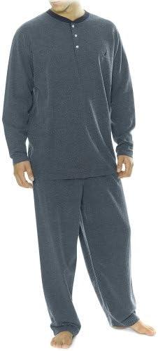 Nautica Men's Sleepwear Max 45% OFF Diamond Print Dyed Columbus Mall Yarn Long-Sleeve Knit
