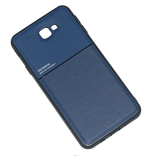 Kepuch Mowen Case Capas Placa de Metal Embutida para Samsung Galaxy J7 Prime - Azul