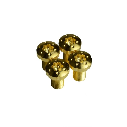 Strike Industries 1911 Torx Grip Screws with True 24k Gold Coating x4 pcs