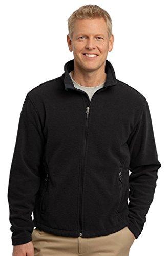 Port Authority Men's Value Fleece Jacket L Black