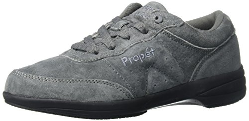 Propet Women's Washable Walker Walking Shoe, SR Pewter, 10 N US