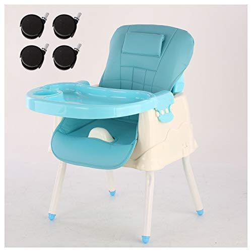 MMYYIP Babystoel Zit 'n Stijl Booster Seat, Draagbare Tafel Hoge Stoel met Transport Tas, Baby Stoel voor Tafel.Van 6 Maand tot 3 Jaar Multi kleuren