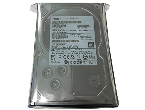 Our #6 Pick is the HGST Ultrastar 3TB 64MB Cache 7200RPM SATA III 6.0Gb/s 3.5in NAS Hard Drive