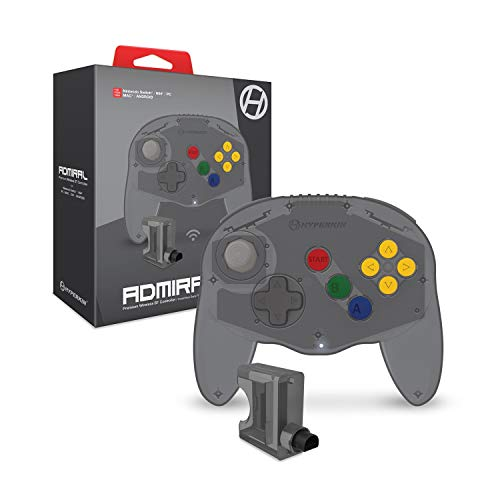Admiral Premium BT Controller for N64 Space Black