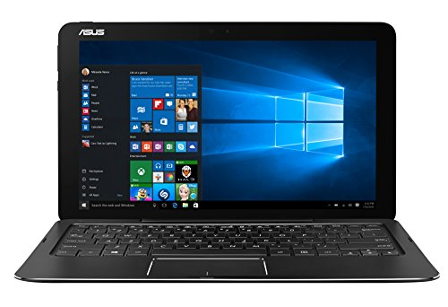 Asus T302CA-FL042R Transformer Book Notebook, Display 12.5', Processore Intel Core M7-6Y75, RAM 8 GB, SSD 512 GB