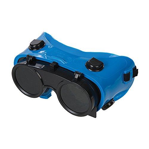 Silverline 140810 - Gafas soldador Transparente/Verde