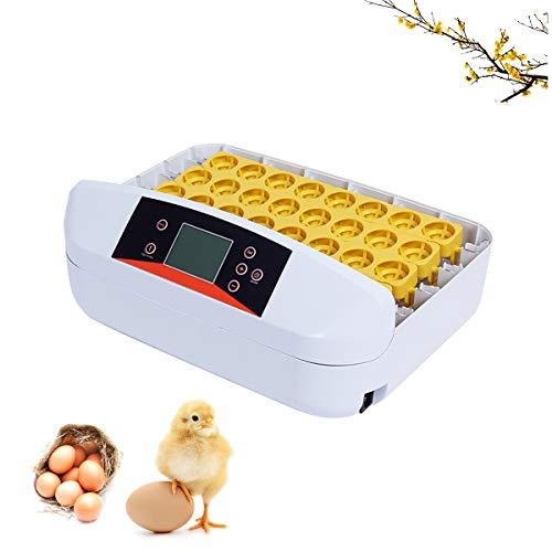WishY 56 Digital Pollo Huevo Incubadora Hatcher Supply Totalmente Automático Huevo Torneado Control De Temperatura