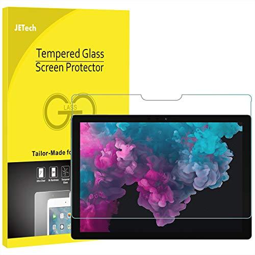 JETech Schutzfolie Kompatibel mit Microsoft Surface Pro 6 / Surface Pro (5. Generation) / Surface Pro 4, Gehärtetes Glas Bildschirmschutzfolie