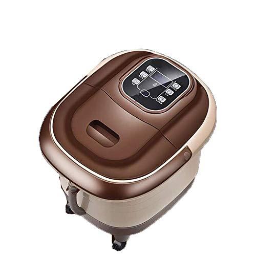 ZHOUJ Spa de pies y masajeador, máquina de masaje de pies, masaje automático de pedicura de agua con control remoto de alivio de estrés Relajación