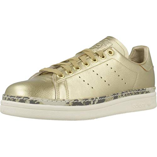 Adidas Stan Smith New Bold W, Scarpe da Fitness Donna, Oro (Dorado 000), 39 1/3 EU
