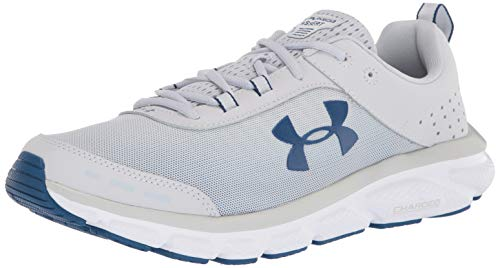 Under Armour mens Charged Assert 8 Running Shoe, Halo Gray...