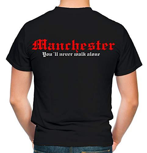 Manchester Kranz T-Shirt | Liga | Trikot | Fanshirt | Bundes | M2 (L)