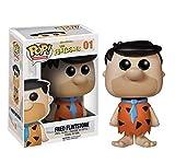 "Funko Fred Flintstone 3.75"" Pop Figure Stacks Pop Protector Bundle"