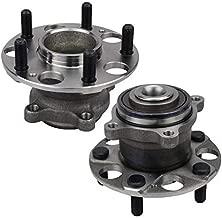 Bodeman - Pair 2 Rear Wheel Hub Bearing Assembly for 2004-2008 Acura TSX / 2005-2007 Honda Accord Hybrid